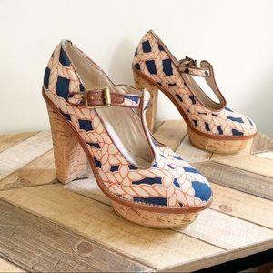 Gorman Rope Print Sandals